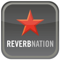reverbnation logo geaux network red star