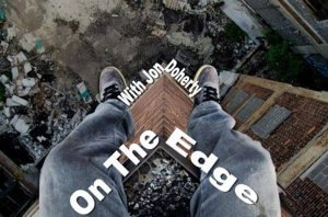 on the edge